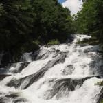 Bild 12. Der Wasserfall etwas weiter oben.