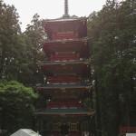 Bild 16. ...aber zunächst gibt es einen buddhistischen Turm zu sehen.