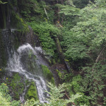 Bild 19. Einer der Nebenwasserfälle.