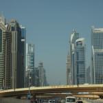 Bild 1. Das ist die luxuriöse Sheikh Zayed Road...