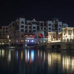 Bild 26. Die Brücke vor dem Souk Al Bahar ist ein beliebter Ort, um die Dubai Fountains zu beobachten.