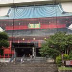 Bild 8. Nur eine Fassade: so sieht eigentlich die Sanbutsudō aus.