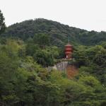 Bild 11. Der Koyasu no Tō aus der Ferne.