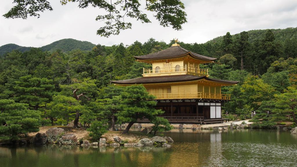 Bild 1. Der goldene Pavillon.