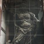 Bild 26. Die Wächterstatue auf der Westseite.