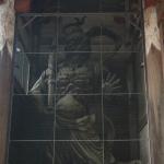 Bild 27. Die Wächterstatue auf der Ostseite.