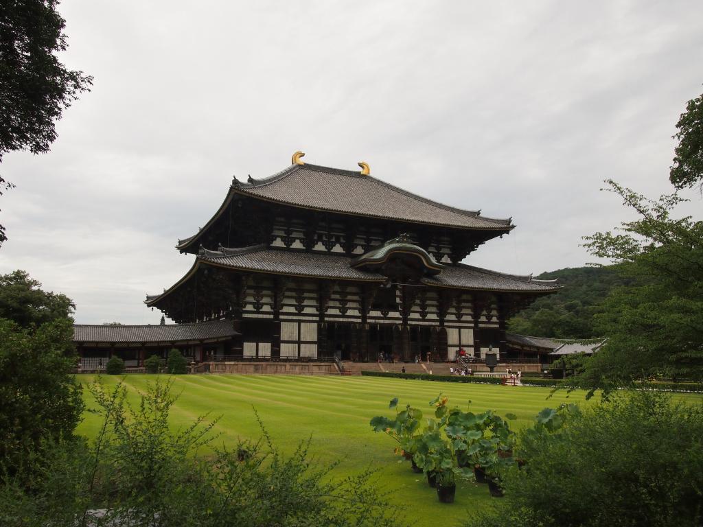 Bild 29. Der Tōdai-ji.