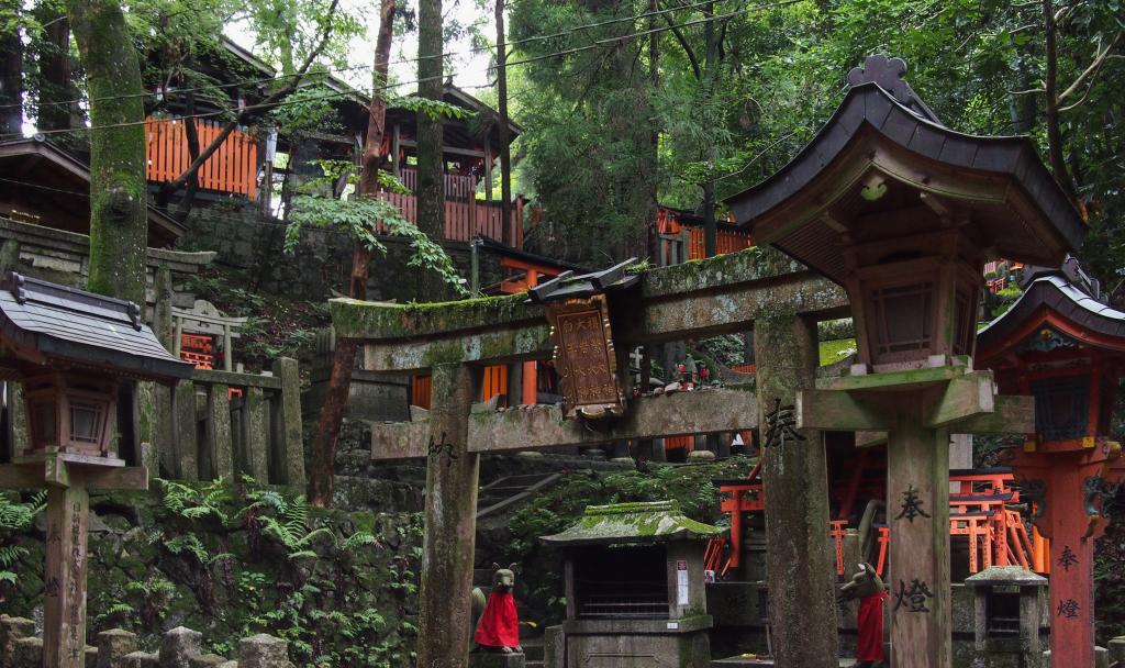 Bild 32. Eine andächtige Stätte auf dem Berg.