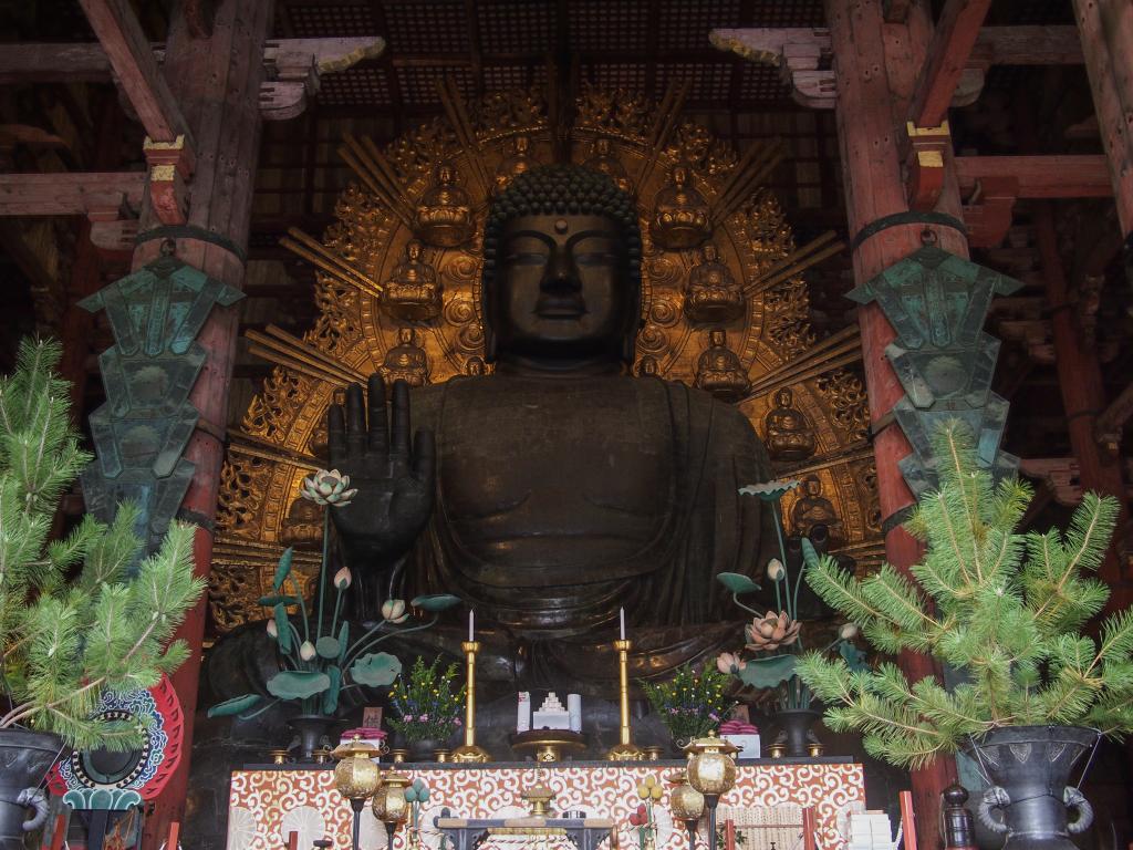 Bild 38. Der große Buddha...