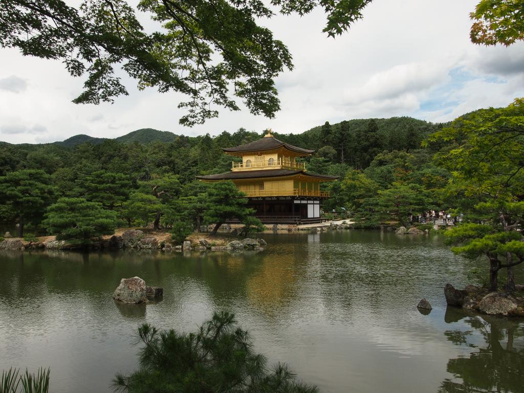 Bild 3. Der Kinkaku-ji im Kontext.