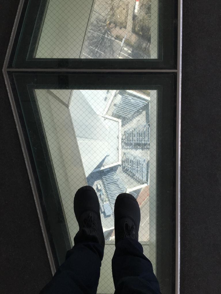 Bild 29. Einen Eindruck vom Goryokaku Tower hatte ich auf dem Handy festgehalten.
