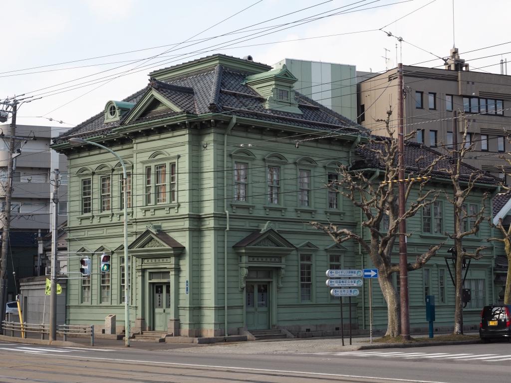 Bild 4. Das erste von vielen europäisch aussehenden Gebäuden.