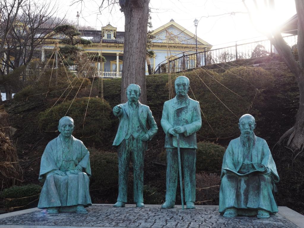 Bild 10. Die vier Weisen von Hakodate.