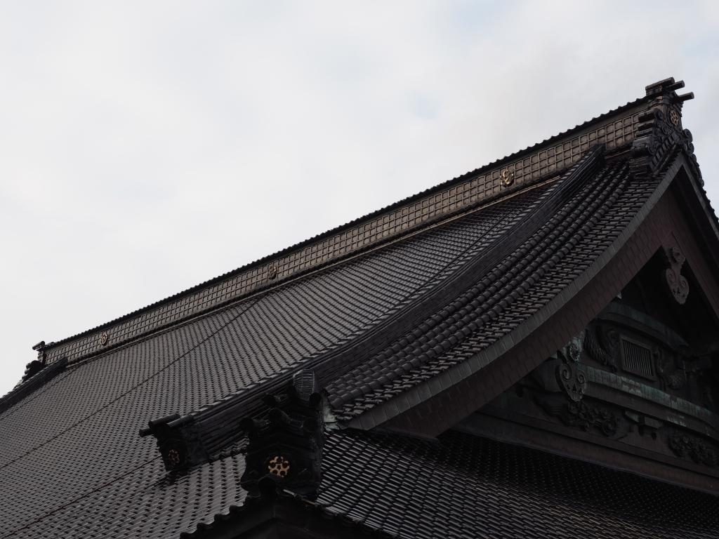 Bild 16. Aber es gibt natürlich auch japanische Gebetshallen.