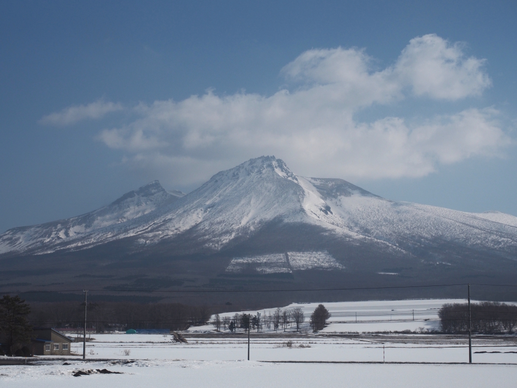 Bild 26. Der schönste der Berge, die ich in Hokkaido gesehen habe.