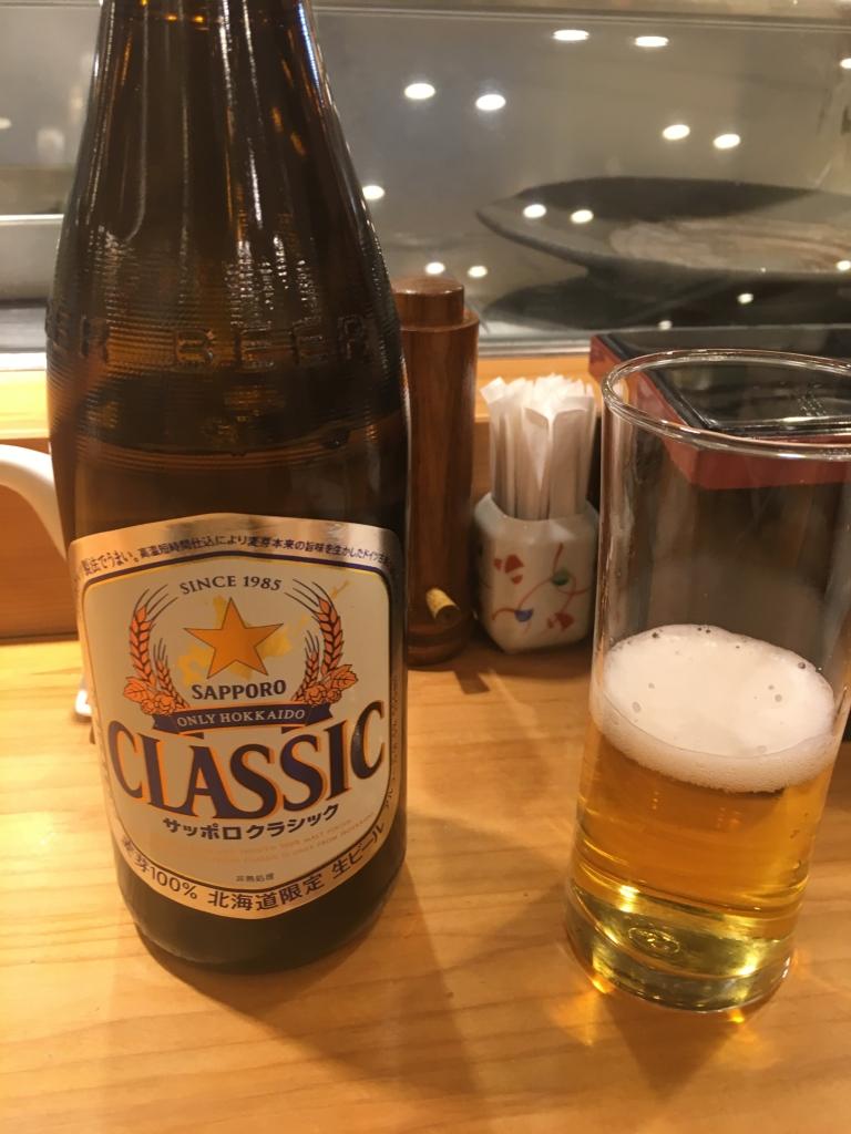 Bild 26. OK, Sapporo ist natürlich auch Bier. Das ist die Sorte, die es nur auf Hokkaido gibt.