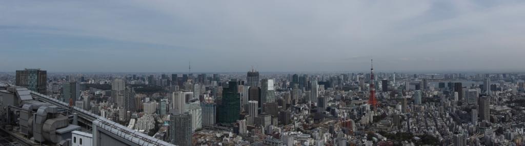 Blick auf Tokyo.